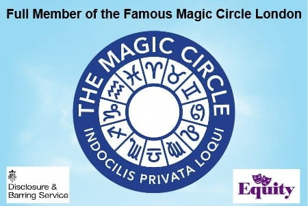 Hire Full member of the Magic Circle London