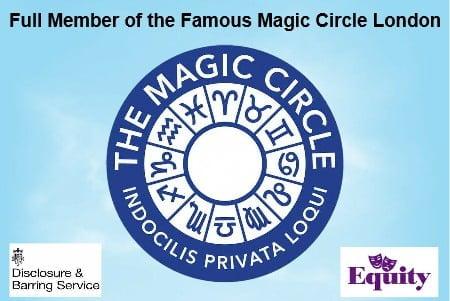 Hire Full member of the Magic Circle London