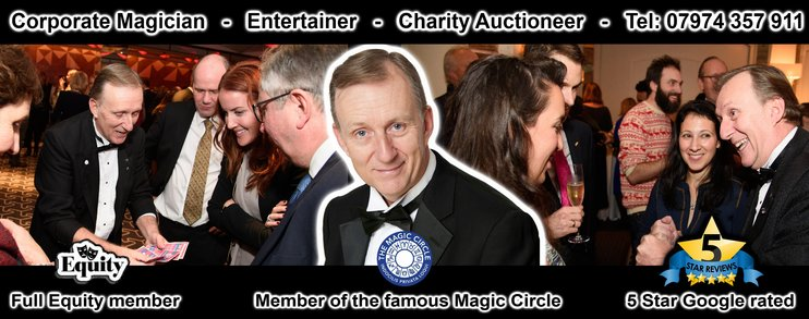 Magic OZ Corporate Magician in Hampshire