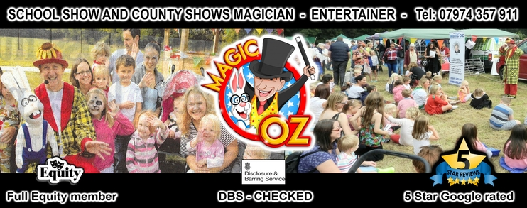 Magic OZ School & County Shows, Fun Days in Hampshire.