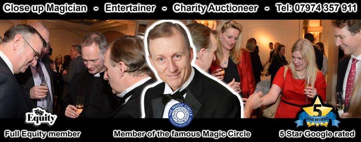 Close up Magician Hampshire Magic OZ