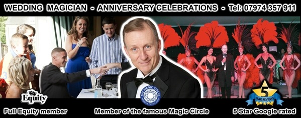 Magic OZ Wedding Magician Hampshire
