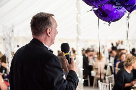 OZ the Charity Auctioneer Hampshire